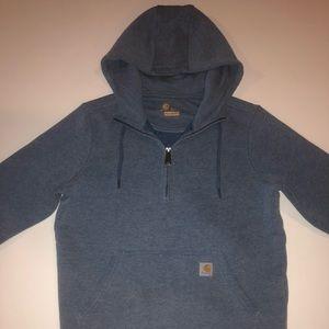 Carhartt half zip hoodie sweatshirt